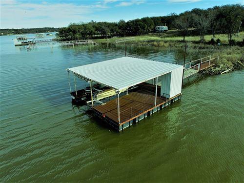 Lot Ready Home Rv Lake Brownwood : Brownwood : Brown County : Texas