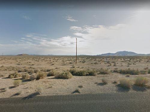2.5 Acre Lot In Mojave, Ca : Mojave : Kern County : California