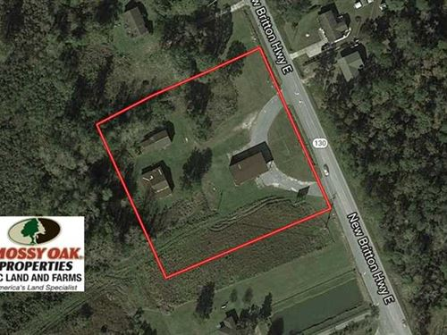 3 Acres of Commercial Land For Sal : Whiteville : Columbus County : North Carolina