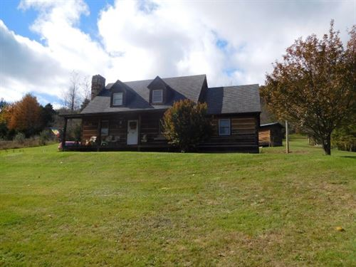 Beautiful Cabin 5 Acres Franklin : Franklin : Pendleton County : West Virginia
