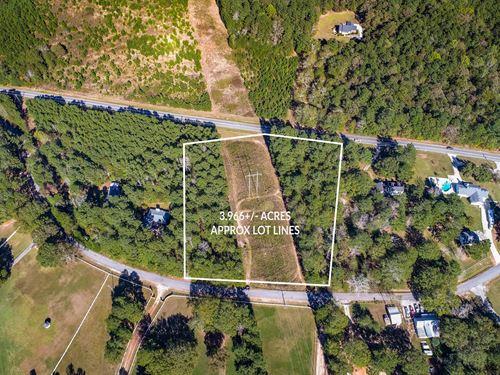 Partially Wooded Acreage In Gwinnet : Dacula : Gwinnett County : Georgia