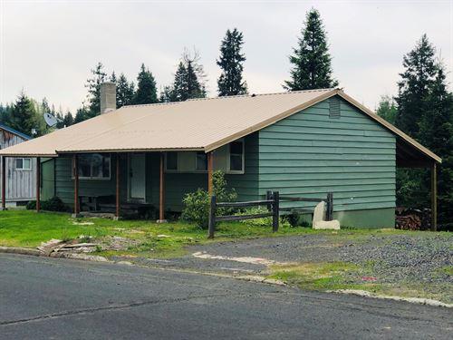 407 Cedar Drive : Pierce : Clearwater County : Idaho