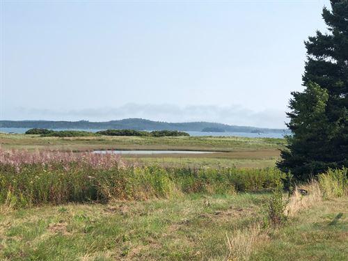 Home Lot in Coastal Lubec Maine : Lubec : Washington County : Maine