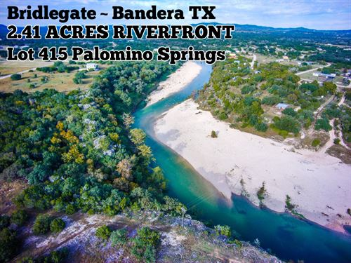 2.41 Acres In Bandera County : Bandera : Texas
