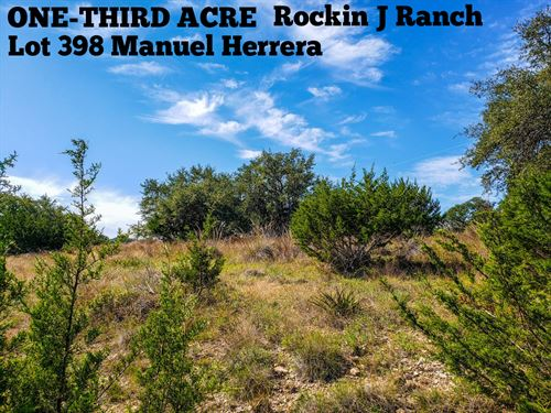 .34 Acres In Blanco County : Blanco : Texas