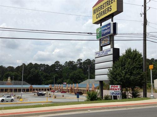 Shopping Center For Redevelopment : Macon : Bibb County : Georgia