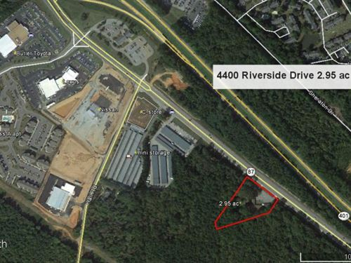 Commercial Outparcel Riverside Dr : Macon : Bibb County : Georgia