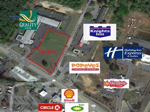 Commercial Lot On Sam Nunn Blvd : Perry : Houston County : Georgia