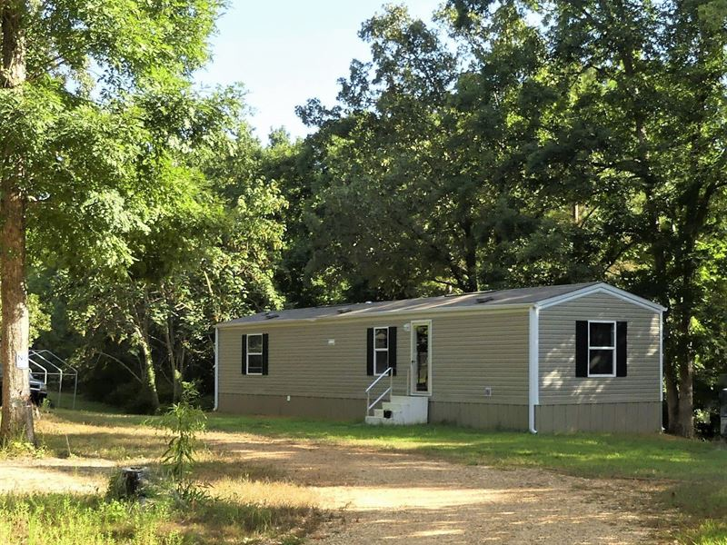 Large Pond, Nice Building Spots : Scotts Hill : Henderson County : Tennessee