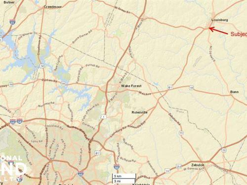 Highway 401 Commercial Corner Parce : Louisburg : Franklin County : North Carolina