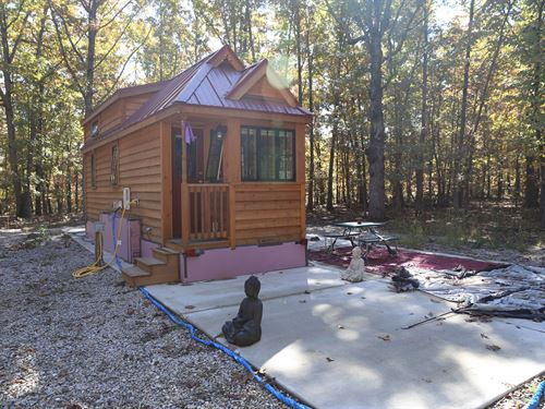 Tiny Home In Missouri Ozarks : Willow Springs : Howell County : Missouri