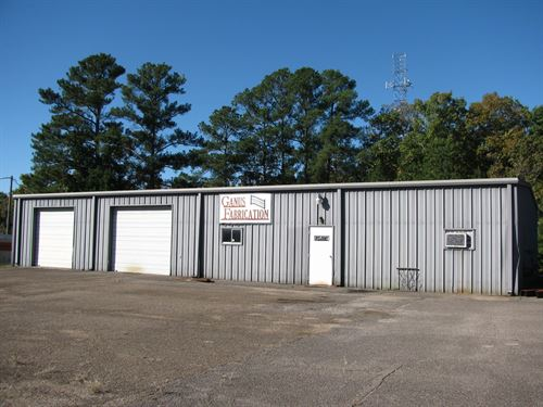 Commercial Buildings Industrial : Adamsville : McNairy County : Tennessee