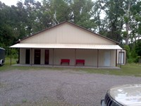 4+ Acres With Metal Bldg On Hwy 64 : Lamar : Johnson County : Arkansas