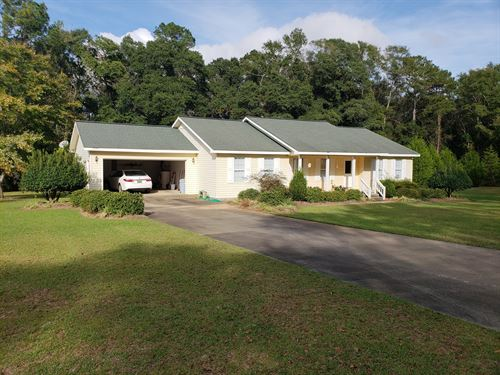 Home 3.41 Acres Creek Hartford : Hartford : Geneva County : Alabama