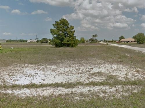 Lee Cnty, Fl .50 Ac $70K, Neg : Cape Coral : Lee County : Florida