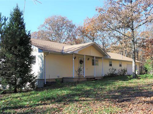 Home in Southern Missouri Ozarks : Vanzant : Douglas County : Missouri