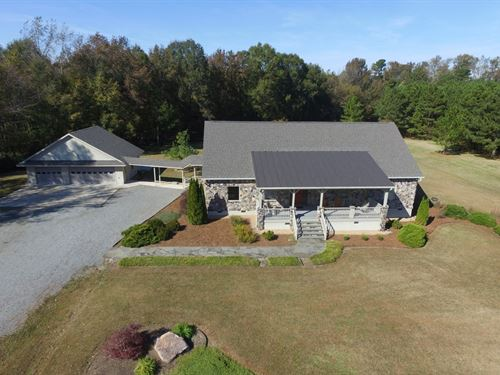 Custom Built Country Home 10+ Acres : Ahoskie : Hertford County : North Carolina