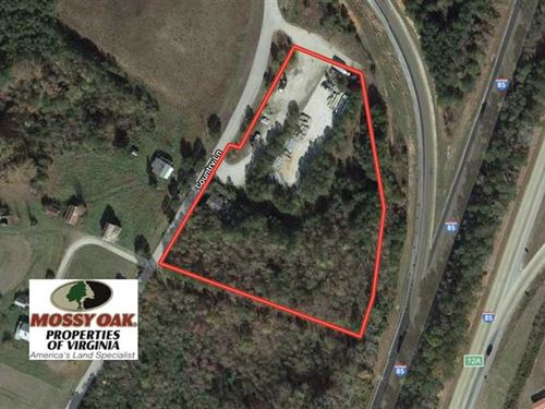 4 Acres of Commercial Land For Sal : South Hill : Mecklenburg County : Virginia