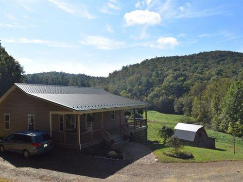 Hobby Farm Large Country Home : Floyd : Virginia
