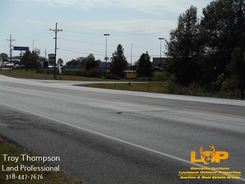 2.579 Acres Commercial Hwy 1 : Marksville : Avoyelles Parish : Louisiana