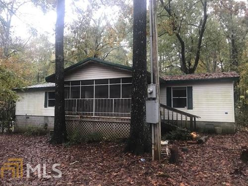 3Br/2Ba Doublewide On 5+ Acres : Eatonton : Putnam County : Georgia