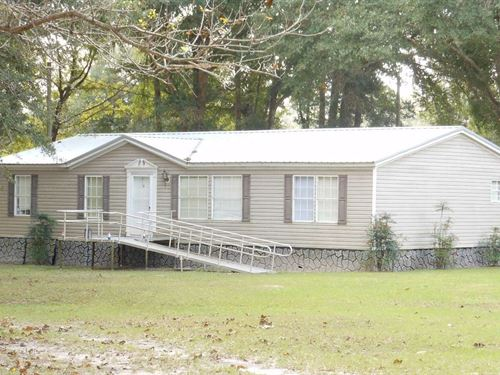 Two Lots Together 2.42 ac Located : Branford : Suwannee County : Florida
