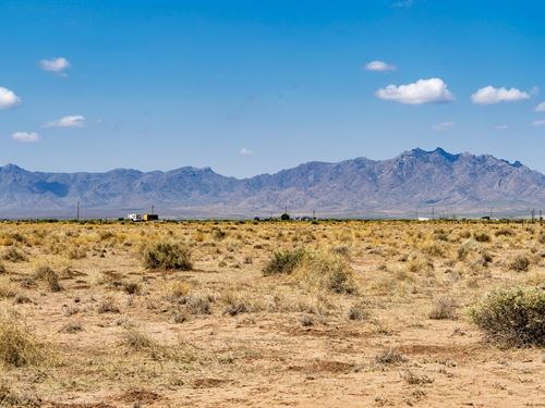 Homesite With Electricity : Deming : Luna County : New Mexico