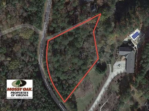 Reduced, 1.7 Acres of Waterfront : Gasburg : Brunswick County : Virginia