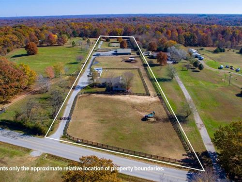 Upscale Equestrian Property Middle : Franklin : Williamson County : Tennessee