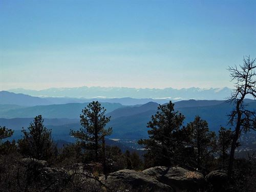10 Acres Next To Government Land : Cripple Creek : Teller County : Colorado