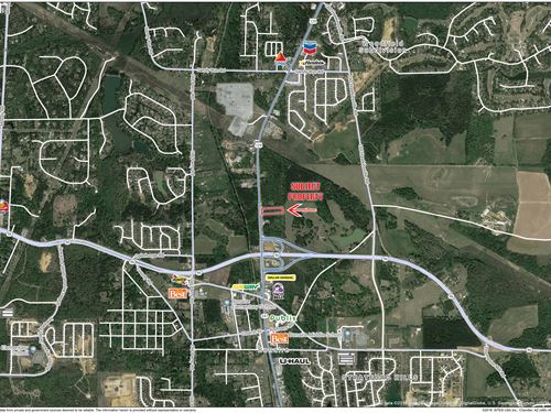 3.44 Ac Growing Area Just Reduced : Bonaire : Houston County : Georgia