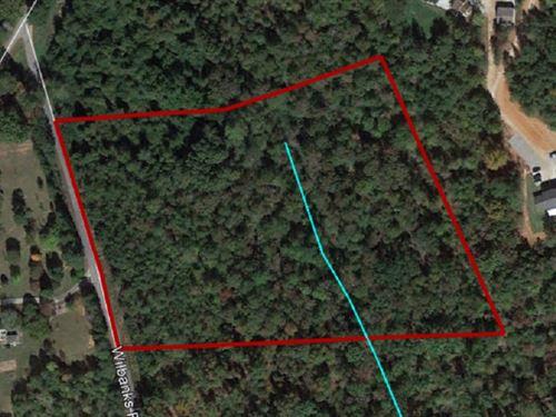 Wilbanks Road Acreage : Seneca : Oconee County : South Carolina