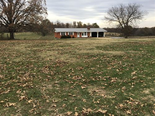 Newly Remodeled Home in The Country : Doniphan : Ripley County : Missouri