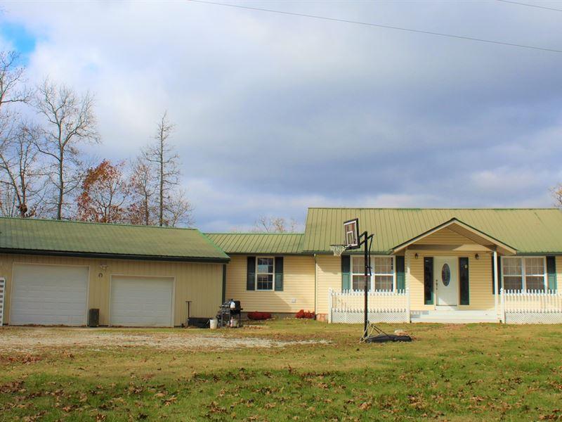 Mo Country Home, Acreage For Sale : Ava : Douglas County : Missouri