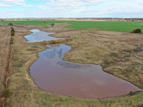 20 Acres & Pond : Enid : Garfield County : Oklahoma
