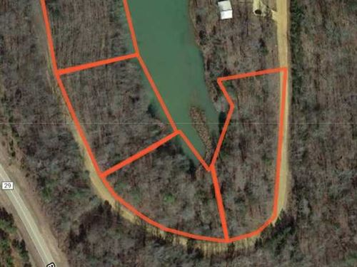 Lake Front Lots Available For New : Pontotoc : Mississippi