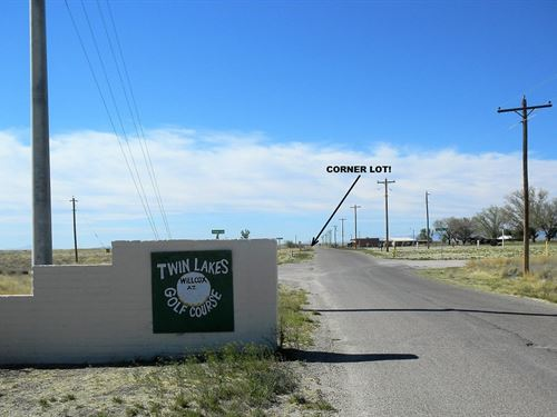 Golf Course Lot With Utilities : Willcox : Cochise County : Arizona