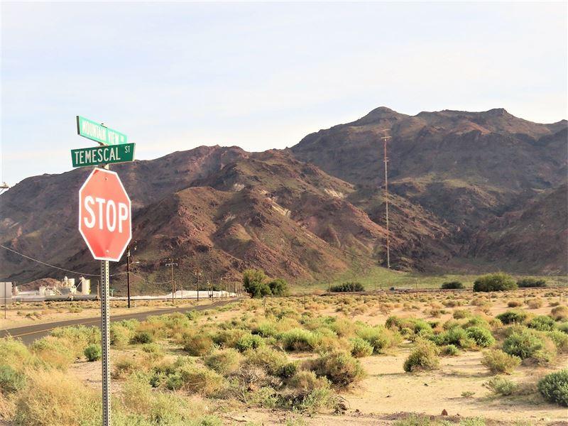 Superb 5 Ac Paved Road Power : Newberry Springs : San Bernardino County : California