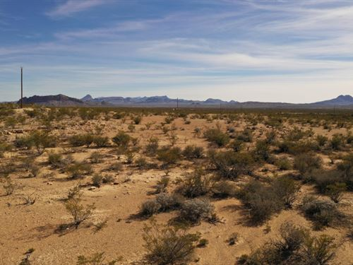 20 Acres, Power Along The Edges : Terlingua : Brewster County : Texas