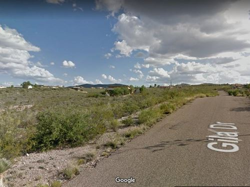Tombstone Lot, Paved Rd, Utilities : Tombstone : Cochise County : Arizona
