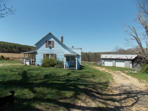 Land Fixer Upper Farmhouse : Willis : Floyd County : Virginia