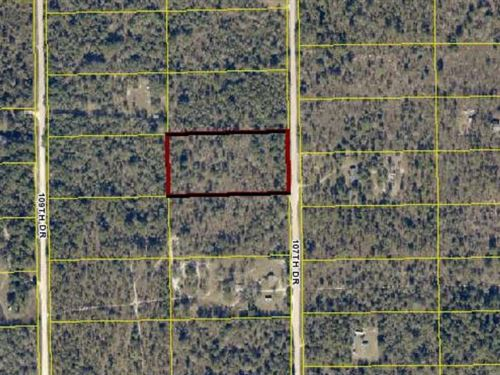 2/3 Land Ready Your New Home Mobile : O'brien : Suwannee County : Florida