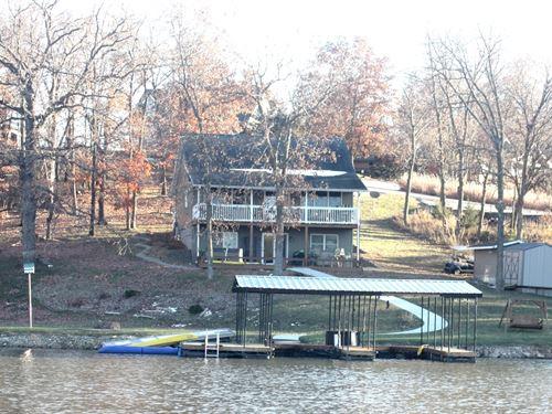 Lake Thunderhead Waterfront Home : Unionville : Putnam County : Missouri