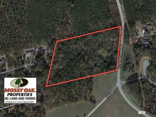 10 Acres of Multipurpose Land For : Littleton : Warren County : North Carolina