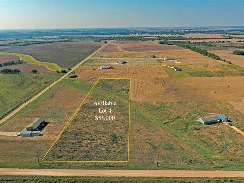 Highland Vistas, Lot 4 : Thorndale : Milam County : Texas