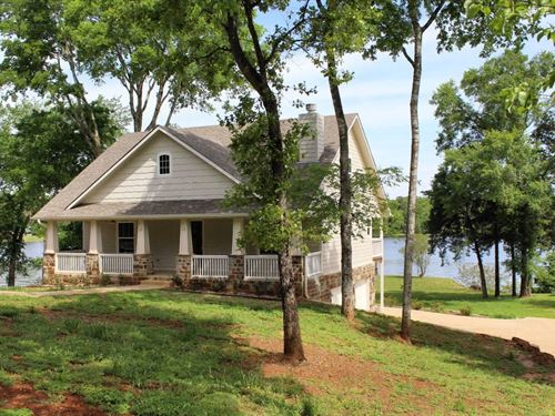 Waterfront Property Lake Palestine : Bullard : Cherokee County : Texas