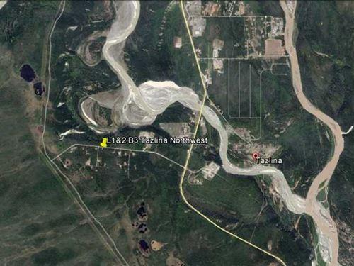 Large Parcel Near The Tazlina Rive : Glennallen : Valdez-Cordova Borough : Alaska