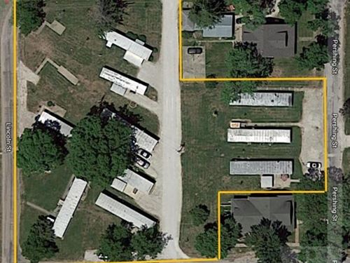 Mobile Home Park For Sale in IA : Donnellson : Lee County : Iowa