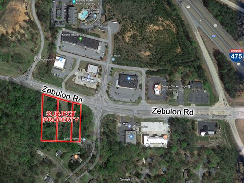 3.2 Acres Development Potential : Macon : Bibb County : Georgia