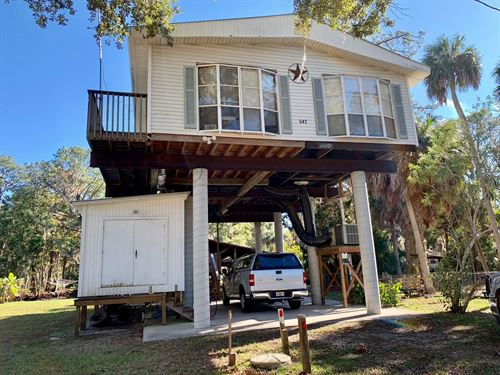 Waterfront Home Suwannee, Florida : Suwannee : Dixie County : Florida